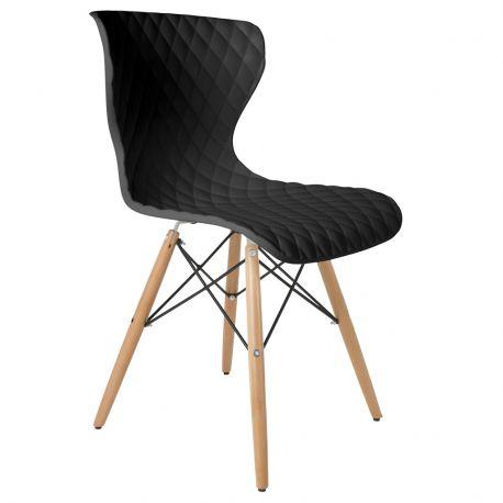 Krzesło CROW, czarne
