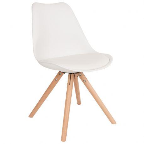 Krzesło TRYCK, białe