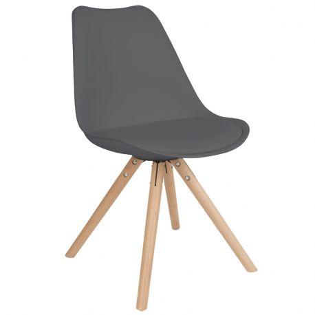 Krzesło TRYCK, czarne - White Label Living