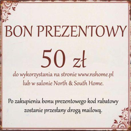 Bon Podarunkowy 50 zł -