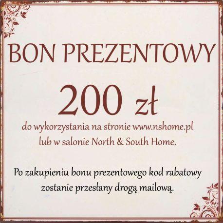 Bon Podarunkowy 200 zł -
