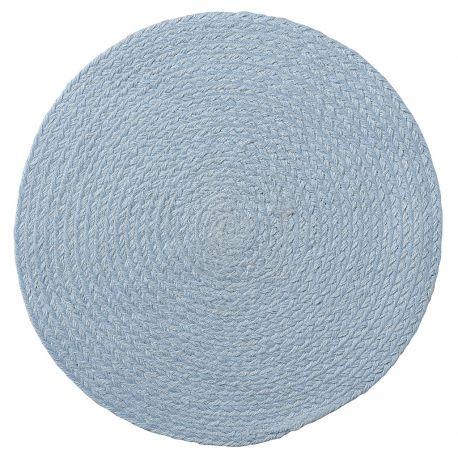 Podkładka okrągła, błękitna