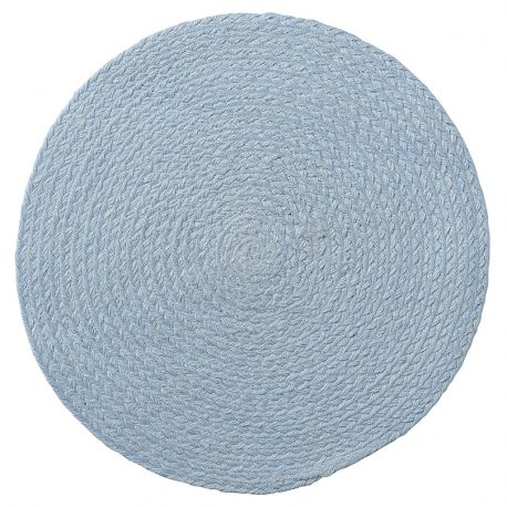 Podkładka okrągła, błękitna - Bloomingville