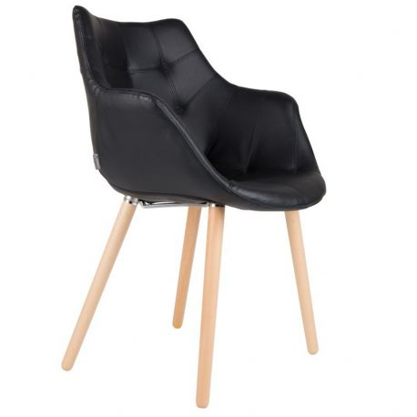 Krzesło TWELVE czarne