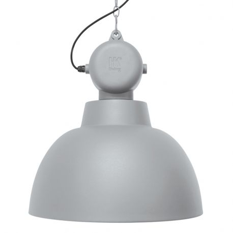 Lampa FACTORY M, szara matowa - HK living