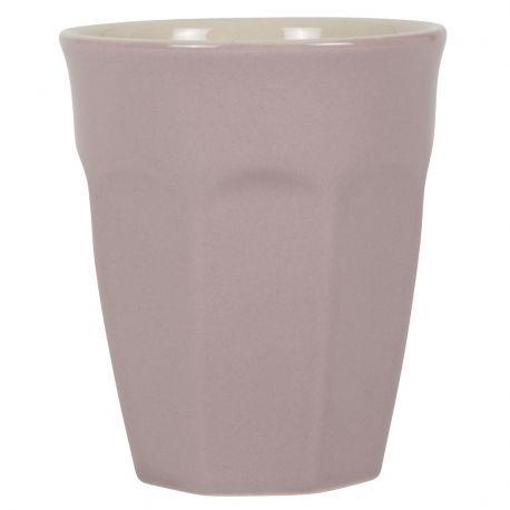 Kubek ceramiczny MYNTE mały, lawendowy - Ib Laursen