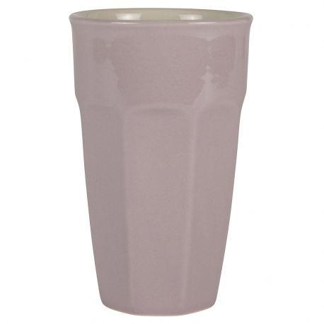 Kubek ceramiczny MYNTE duży, lawendowy - Ib Laursen