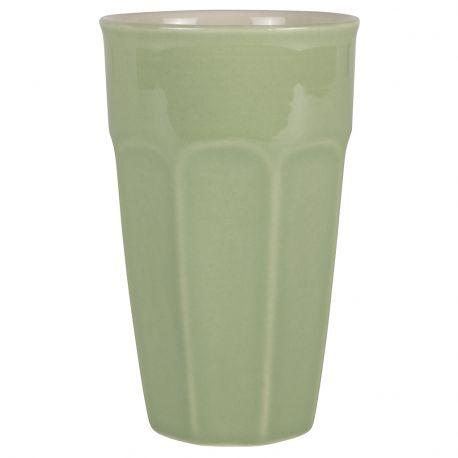 Kubek ceramiczny MYNTE duży, zielony