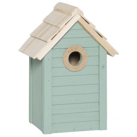 Domek dla ptaków, kolor miętowy