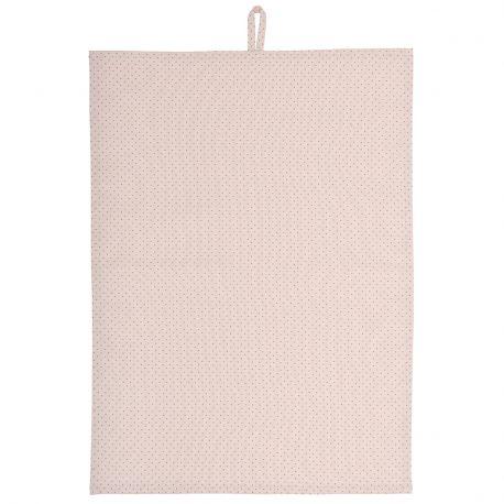 Ściereczka kuchenna różowa w kropki - Ib Laursen