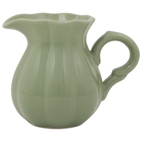 Dzbanuszek ceramiczny MYNTE, zielony