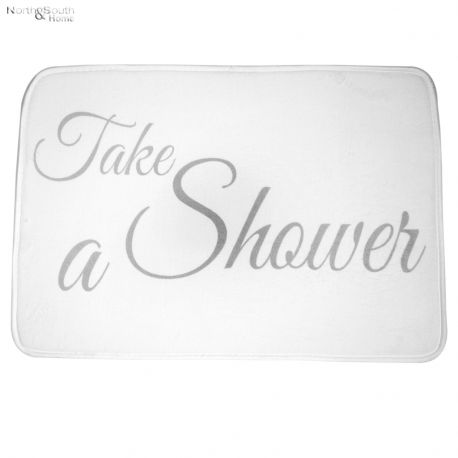 Mata łazienkowa TAKE A SHOWER, duża