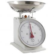 Waga kuchenna, 5 kg, biała