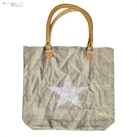 Torba CANEA, biała gwiazda