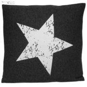 Poduszka STAR, ciemnoszara