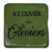 Podkłada pod kubek  A L'OLIVIER DES OLIVIERS, jasna oliwka