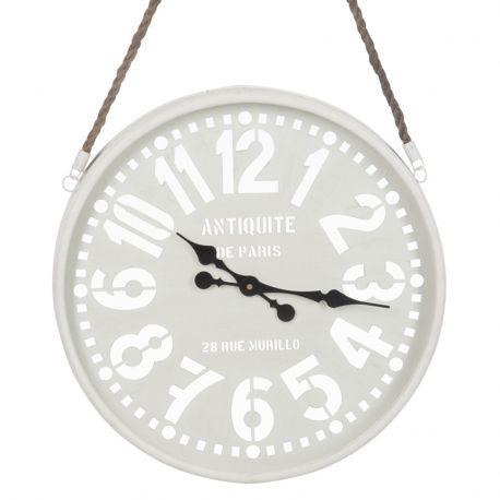 Zegar metalowy PARIS, rozmiar S - J-Line