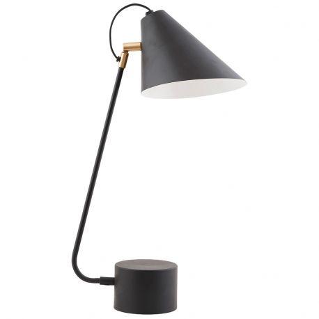 Lampa stołowa CLUB czarno- biała