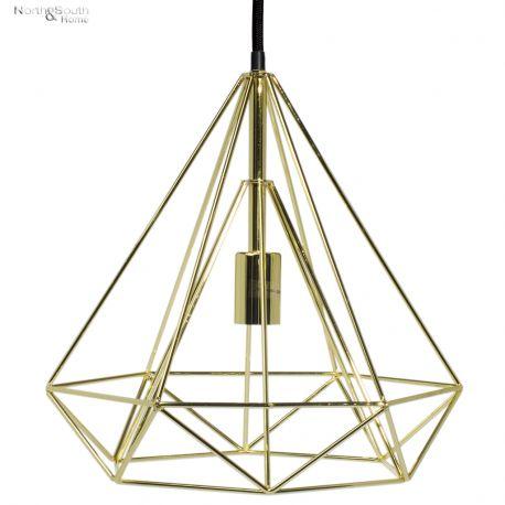 Lampa wisząca ANTWERP, złota - It's about RoMi
