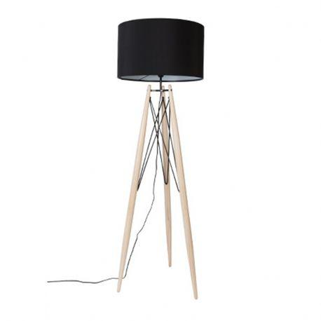 Lampa podłogowa EIFFEL, czarna
