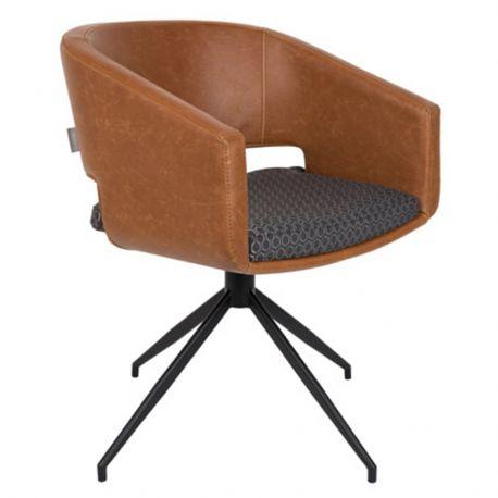 Fotel BEAU brązowy  - Zuiver