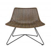 Fotel OTIS, brązowy