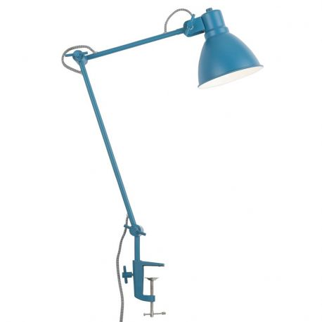 Lampa stołowa DERBY, TEAL BLUE - It's about RoMi