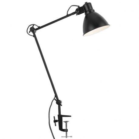 Lampa stołowa DERBY, czarna