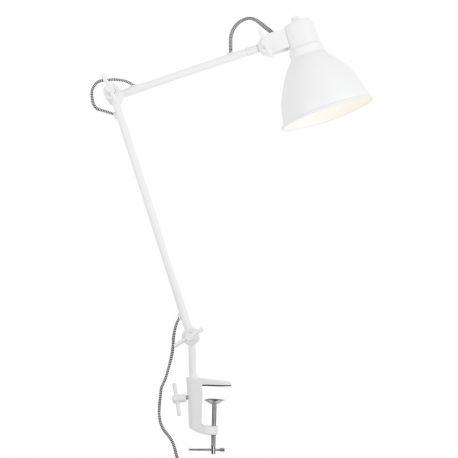 Lampa stołowa DERBY, biała - It's about RoMi