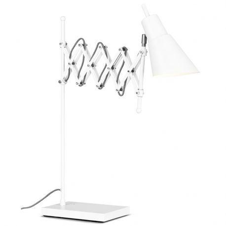 Lampa stołowa OXFORD, biała
