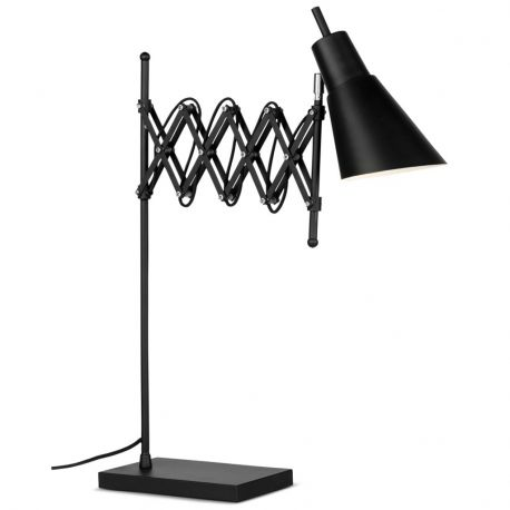 Lampa stołowa OXFORD, czarna