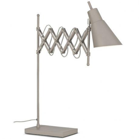 Lampa stołowa OXFORD, szara - It's about RoMi