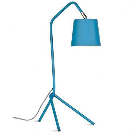 Lampa stołowa BARCELONA, TEAL BLUE - It's about RoMi