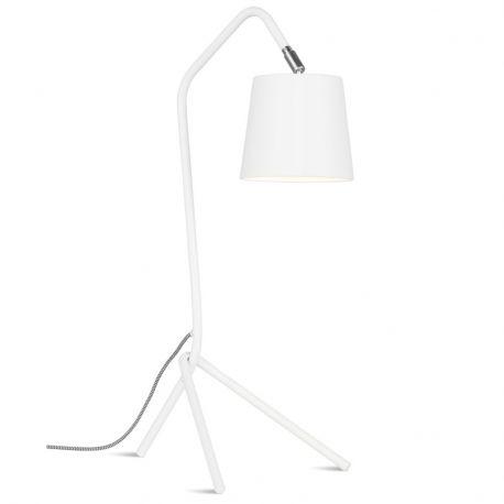 Lampa stołowa BARCELONA, biała - It's about RoMi