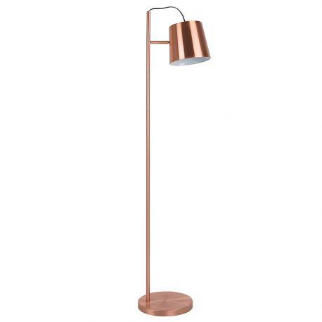 Lampa podłogowa BUCKLE HEAD miedziana - Zuiver
