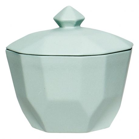 Cukierniczka ceramiczna, miętowa