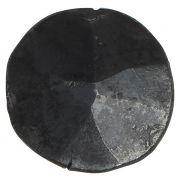 Gałka z żelaza w kolorze czarnym