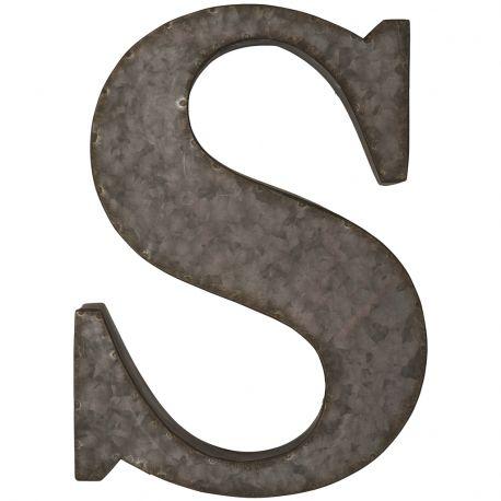 Litera metalowa na ścianę, C