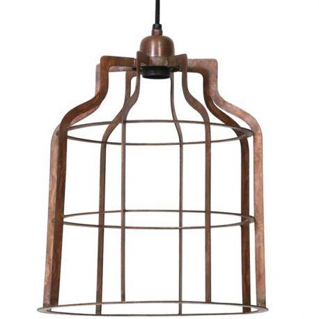 Lampa wiszaca ADINE, miedziana, duża - Light & Living