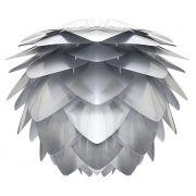 Abażur SILVIA srebrno- biały