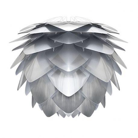 Abażur SILVIA MINI srebrno- biały