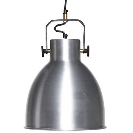 Lampa industrialna, srebrna - Hübsch