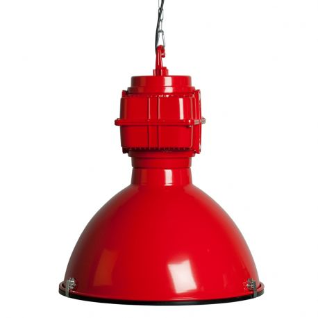 Lampa VIC INDUSTRY czerwona