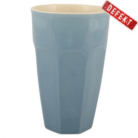Kubek ceramiczny MYNTE duży, granatowy - DEFEKT 1