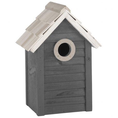 Domek dla ptaków, szary - Ib Laursen