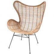 Fotel rattanowy EGG naturalny