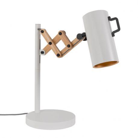 Lampa stołowa FLEX biała
