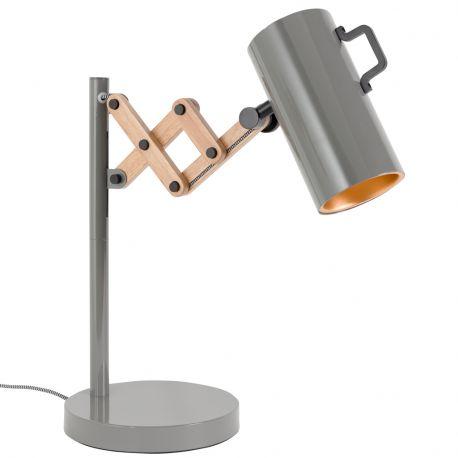 Lampa stołowa FLEX szara