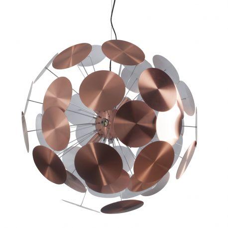 Lampa wisząca PLENTY WORK, miedziana - Zuiver