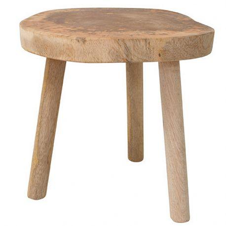 Stołek, stolik w kształcie pnia drewna
